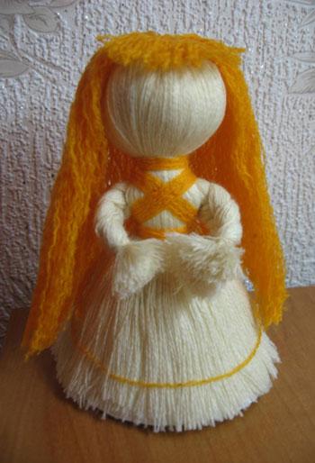 Куклы оберег из ниток