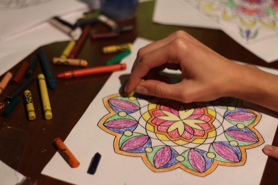 Мандала своими руками рисунки