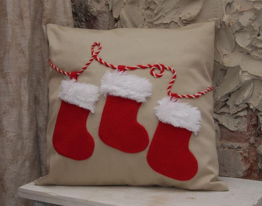 Подушки своими руками к новому году