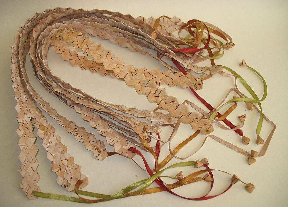 Плетение из бересты своими руками