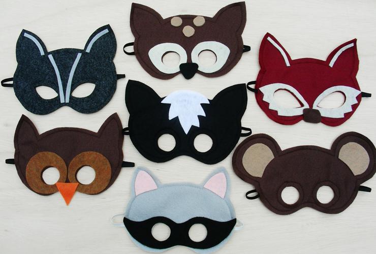Как сделать маскарадную маску из ткани