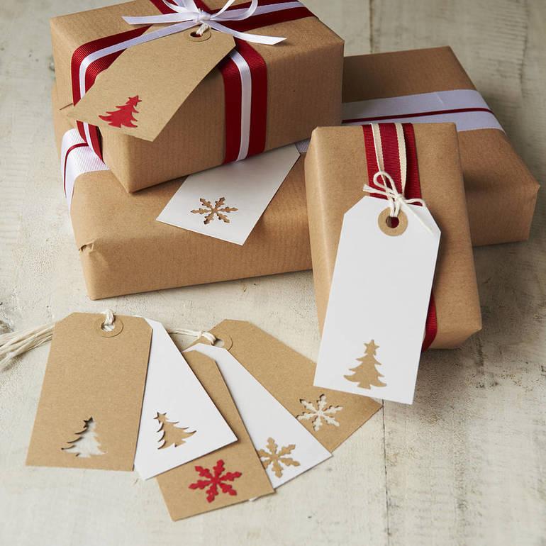 Новогодние упаковки своими руками