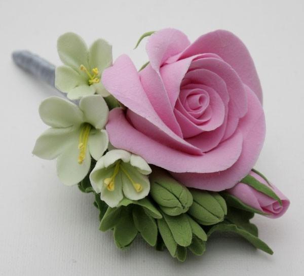 Мастер класс из полимерной глины фото цветы