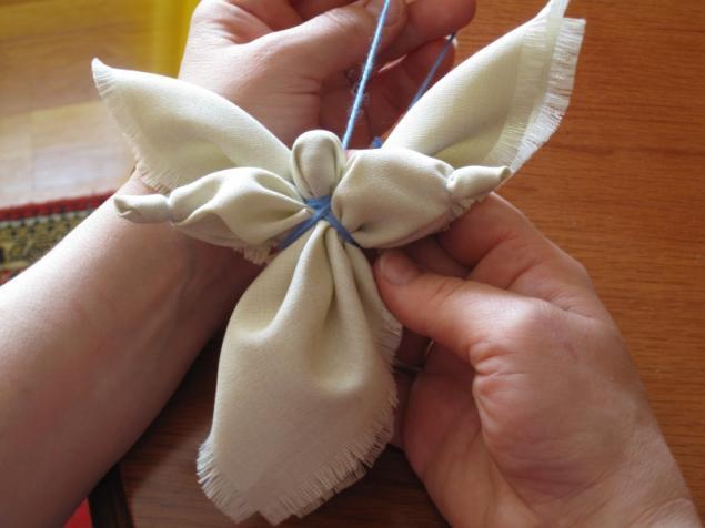 Поделки ангел из ткани своими руками