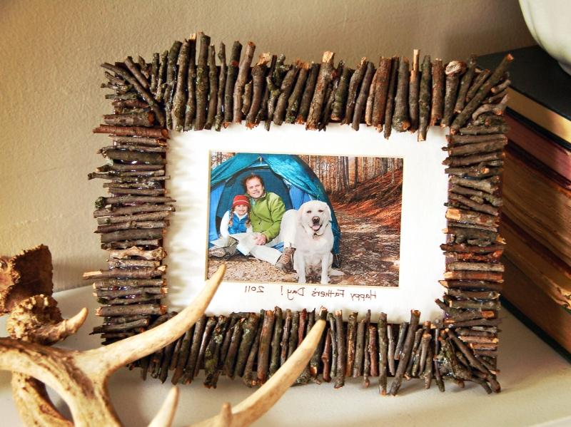 Картинки своими руками из подручных материалов