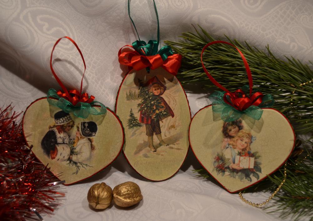 Новогодняя игрушка из дерева своими руками фото