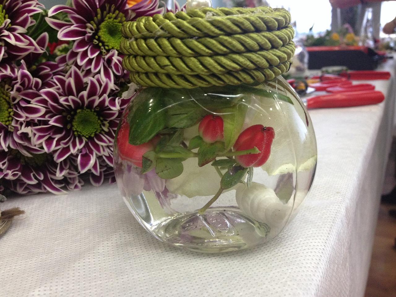Цветы глицерин 5