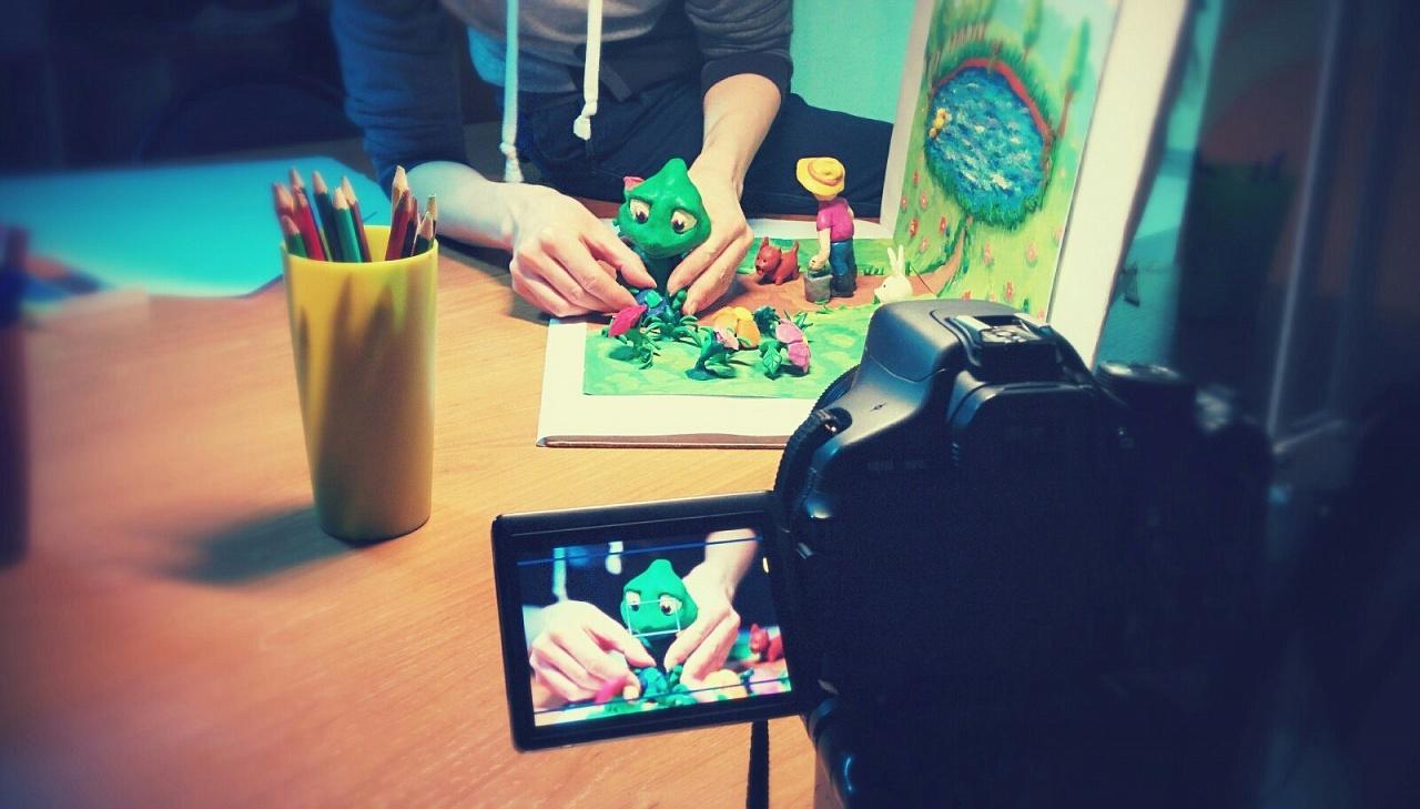 Мастер класс создание мультфильма своими руками